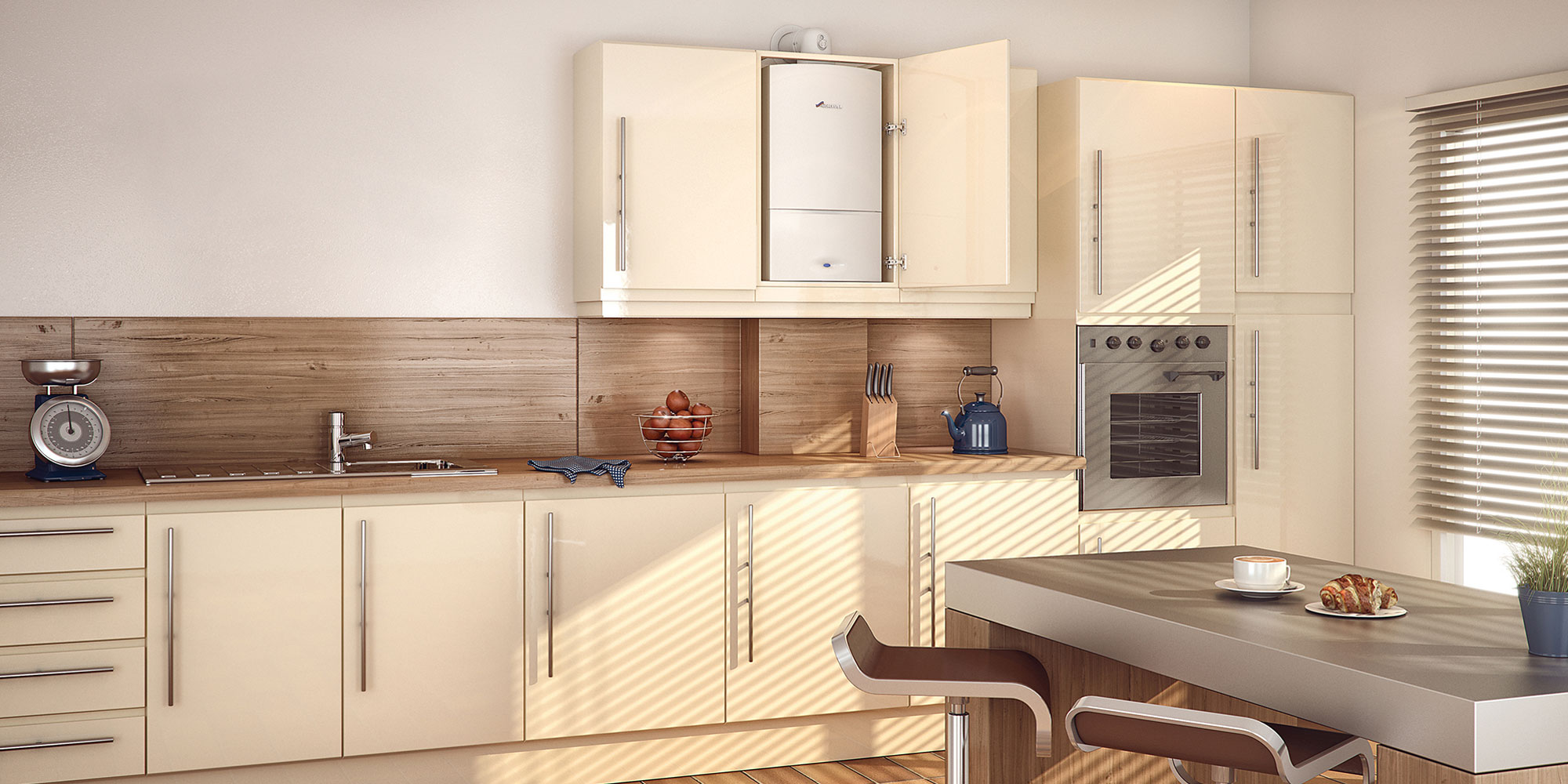 Simon Annear Plumbing and Heating provide boiler installations.