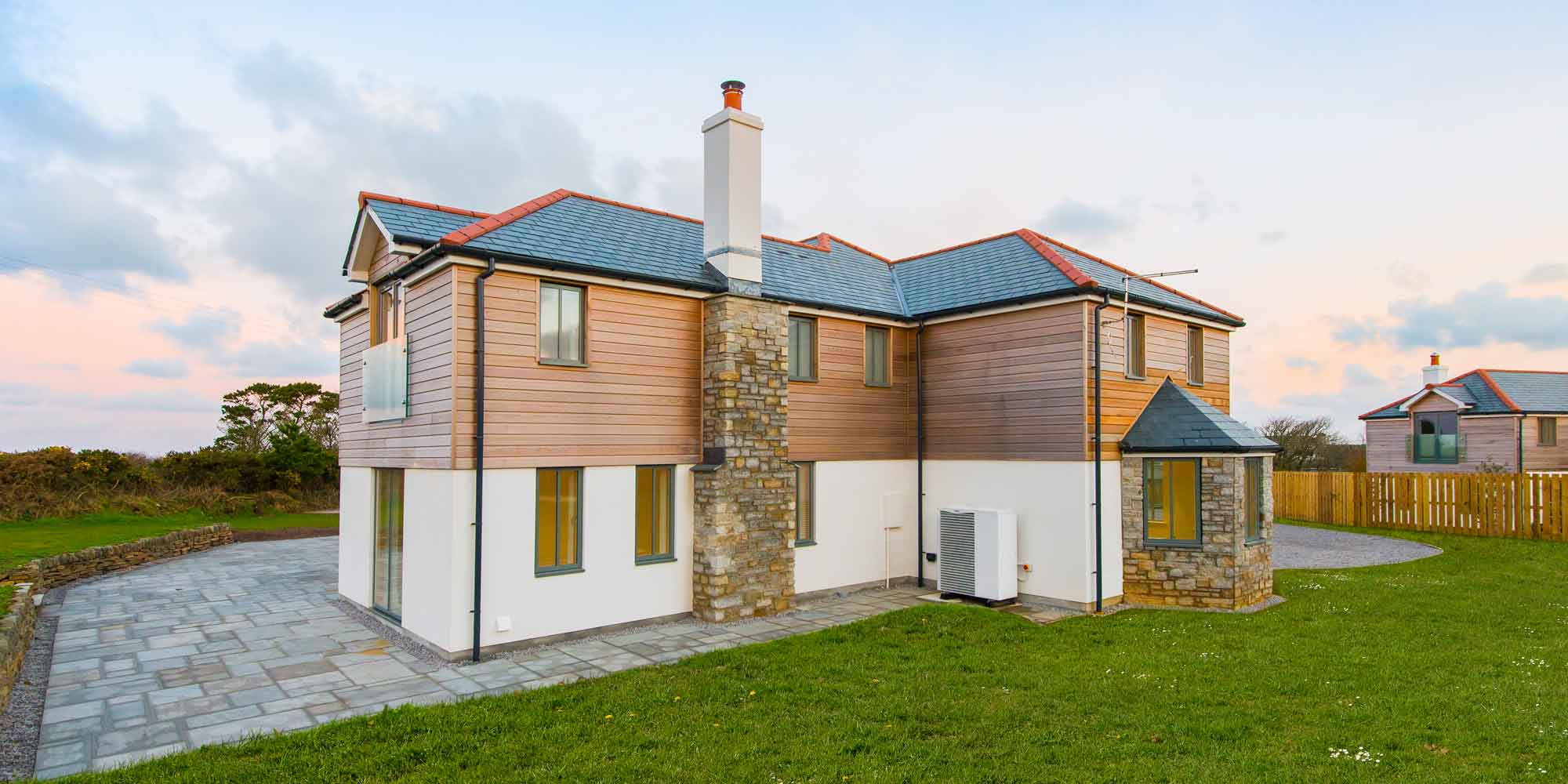 Lowena Kelys a four property development in St Agnes, Cornwall, UK
